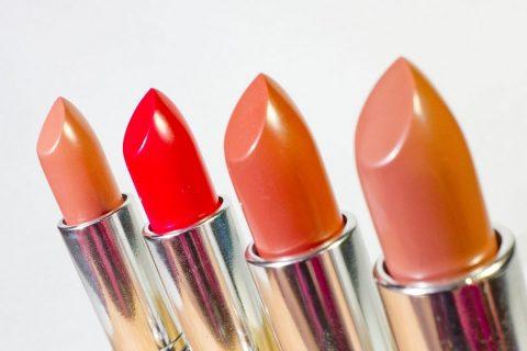 Les différents gammes de maquillage